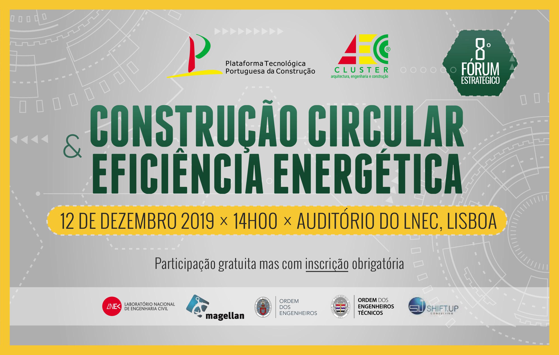 Banner 8º Forum Estratégico da PTPC/Cluster AEC
